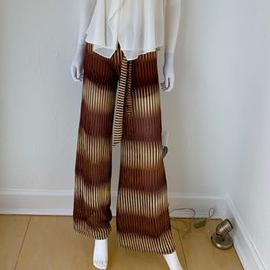 Mission knit belted pants